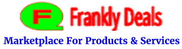 FranklyDeals.com - Marketplace for Products and Services